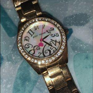 Betsey Johnson watch! Make offer/make a deal!